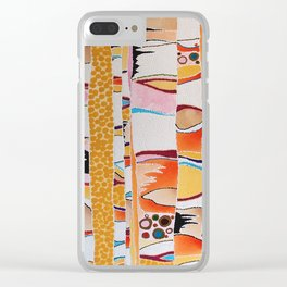 Marmalade Morning Clear iPhone Case