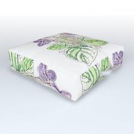 Viola Odorata Outdoor Floor Cushion