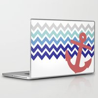 nautical Laptop & iPad Skins featuring Nautical  by emain
