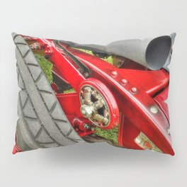 Vintage Car Rear Quarter Pillow Sham