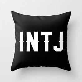INTJ Throw Pillow