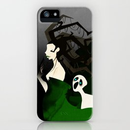 Hel the Goddess of Death iPhone Case