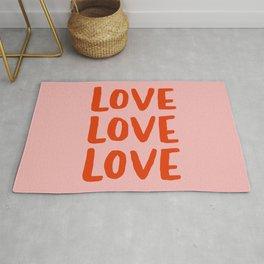 Love Love Love Rug