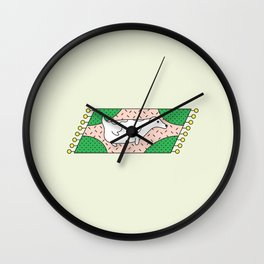 Fat Russell Wall Clock