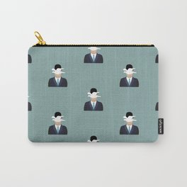 The Man with the Bowler hat Pattern Carry-All Pouch