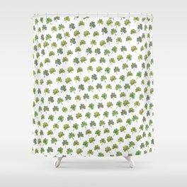 Four Leaf Clover Finder Shower Curtain