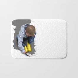 To Live with No Thought for the Future Bath Mat