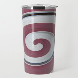 Swirl 06 - Colors of Rust / RostArt Travel Mug