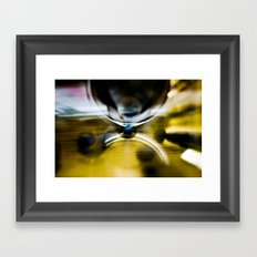 Time Machine Framed Art Print
