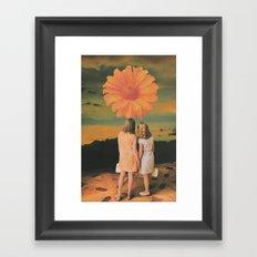 First Resonance Framed Art Print