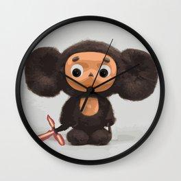 Cheburashka: The Force Awakens Wall Clock