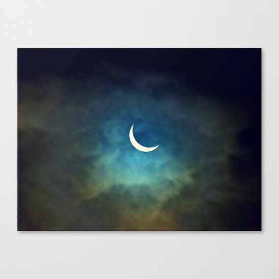 Solar Eclipse 1 Canvas Print