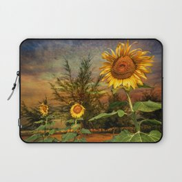 Three Sunflowers Laptop Sleeve