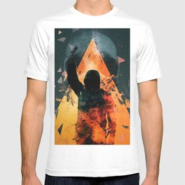 No way out Sci-Fi Surreal Art T-shirt