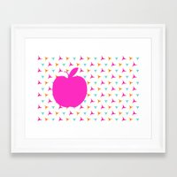 apple Framed Art Prints featuring *Apple* by Mr and Mrs Quirynen