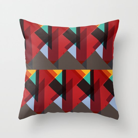 Crazy Abstract Stuff Throw Pillow