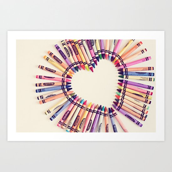 love in every color Art Print