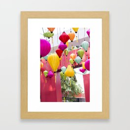 Saigon in Color Framed Art Print