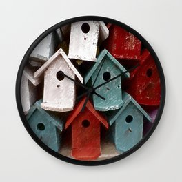 My house is my castle Wall Clock