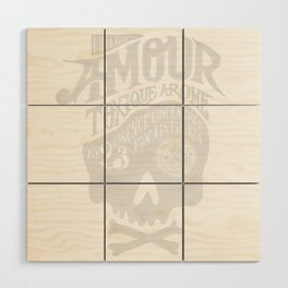 Amour Wood Wall Art