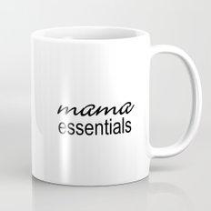 Mama Essentials Black & White Mug