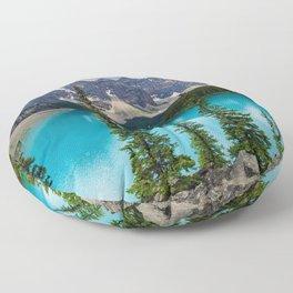 Moraine Lake Floor Pillow