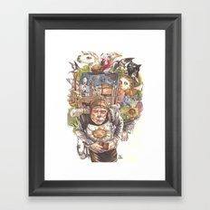 Patsy's Back Framed Art Print