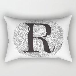 Succulent R Rectangular Pillow