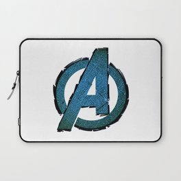 UNREAL PARTY 2012 AVENGERS LOGO FLYERS Laptop Sleeve