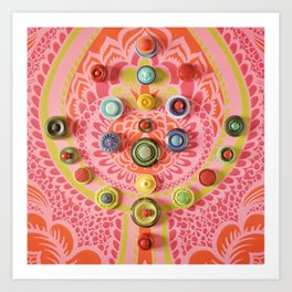 Colourtree Art Print