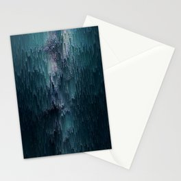 Frost Glitches Stationery Cards