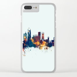 Derby England Skyline Clear iPhone Case