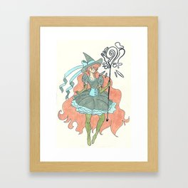 Magics Framed Art Print