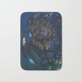 BLUE BRANCHES Bath Mat