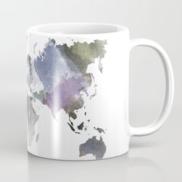 Watercolor World Coffee Mug
