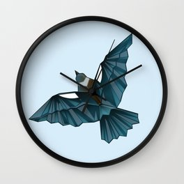 Paper Tui Wall Clock