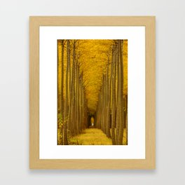 Tree Soldiers Framed Art Print