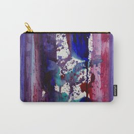Purples lined Carry-All Pouch