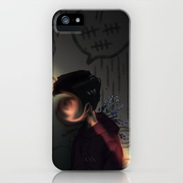 lightly does it iPhone Case