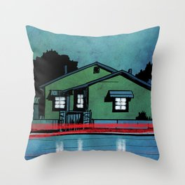 Nightscape 05 Throw Pillow