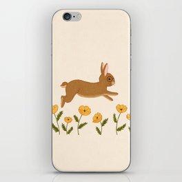 golden leap iPhone Skin