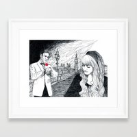 bond Framed Art Prints featuring Bond by Albert Wint