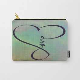Love in my heart Carry-All Pouch