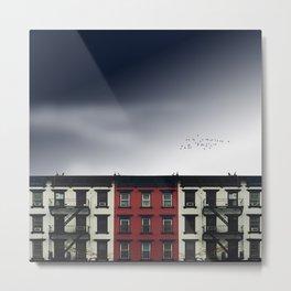 Little Red Address Metal Print