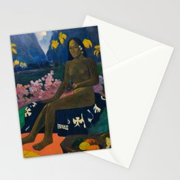"""Paul Gauguin """"Te Aa No Areois (The Seed of the Areoi)"""" Stationery Cards"""