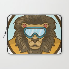 snow lion Laptop Sleeve