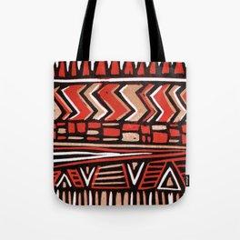 Aztec lino print Tote Bag