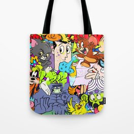 Defective Cartoon 01 Tote Bag