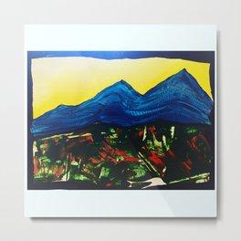 Tillamook Foothills Metal Print