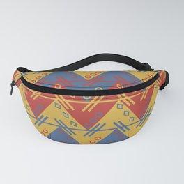 Tribal Zigzag Line Pattern Fanny Pack